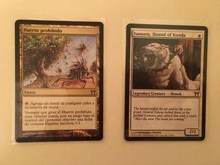 2 cartas MAGIC