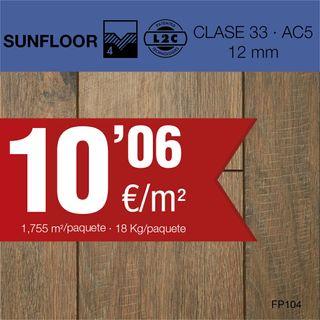 Floorpan ,suelo laminado AC5/12