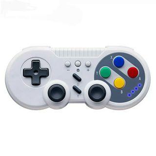 mando estilo super Nintendo para switch