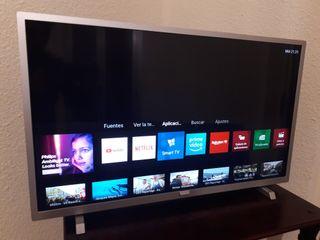 TV Philips 32' SmarTv como nueva