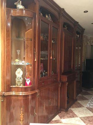 mueble de salón madera