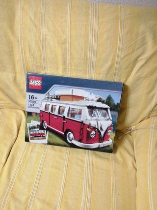 Furgoneta hippie de Lego, 1334 piezas, nuevo