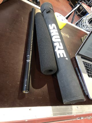 Micrófonos de cañon tope de gama Shure SM89