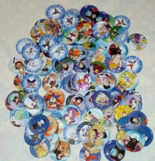 Dragon Ball Z E-MAX. Gliders. TAZOS