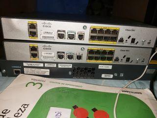 Router Cisco 891 2unidades
