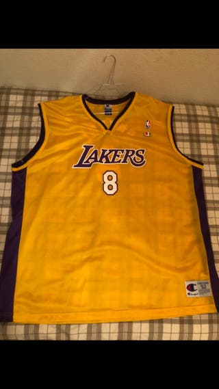Kobe Bryant Lakers Champion USA Original
