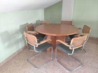 conjunto mesa y sillas salón