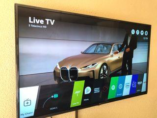 "Tv lg 55"" 4k led smart tv wifi bluetooth"