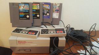 Nintendo con 4 juegos