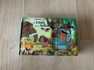 """Libro-puzzle """"El libro de la selva"""""""