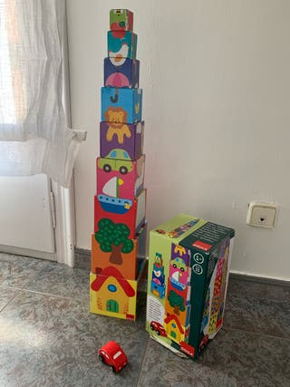 Juego cubos apilables