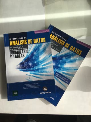 Libros PSICOLOGÍA ANÁLISIS DE DATOS UNED