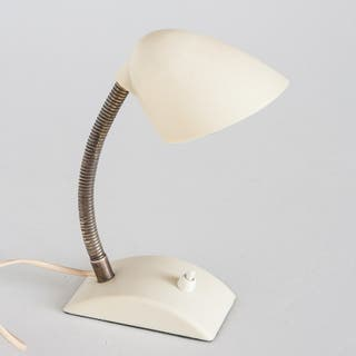 Lámpara flexo sobremesa. Baquelita. Vintage. 50's