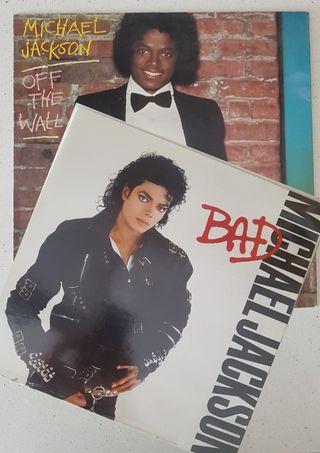 2 vinilos Michael Jackson