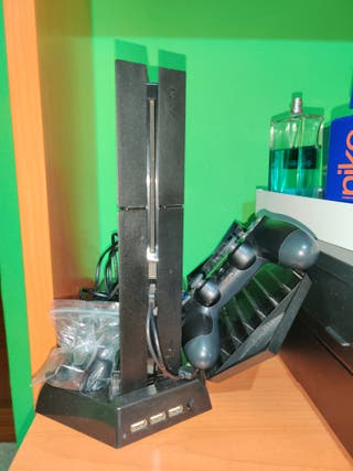 PS4 + MANDO ORIGINAL + JUEGOS
