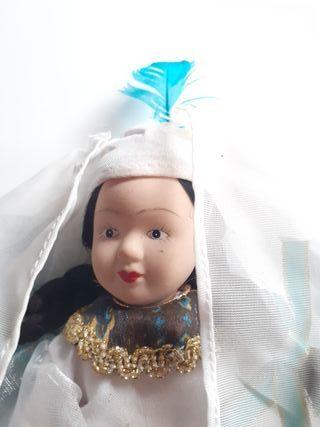 muñeca articulada de porcelana VINTAGE cdg 1648-35
