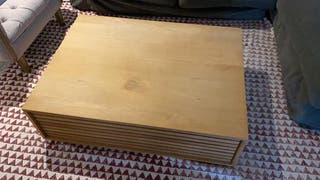 Coffee table (wood) from habitas