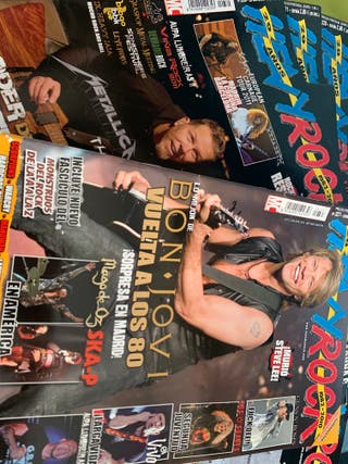 Revistas heavy rock