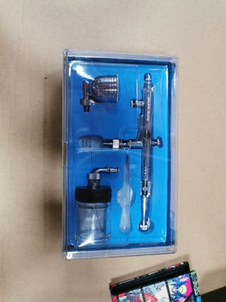 aerógrafo compresor Kit de chorro de Spray Mini pi