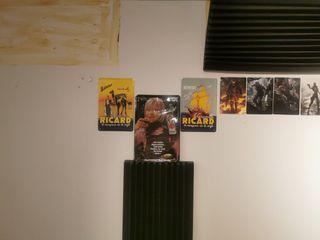 Placas de colección jagermeister y Ricard