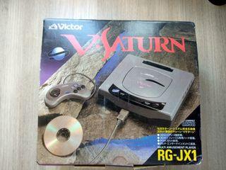 Consola V Victor Saturn con caja en buen estado