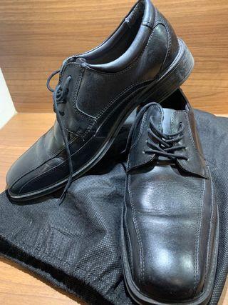 Chaussures Cuir Noir
