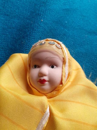muñeca de porcelana articulada VINTAGE cdg 1648-34