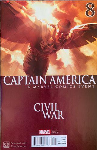 Captain America : Sam Wilson 8