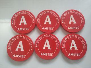 Posa vasos Amstel