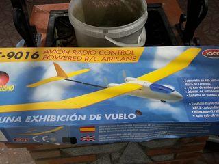 avión radio control
