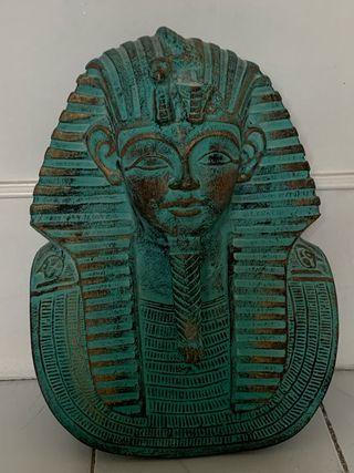 Escultura faraón egipcia, comprada en Egipto