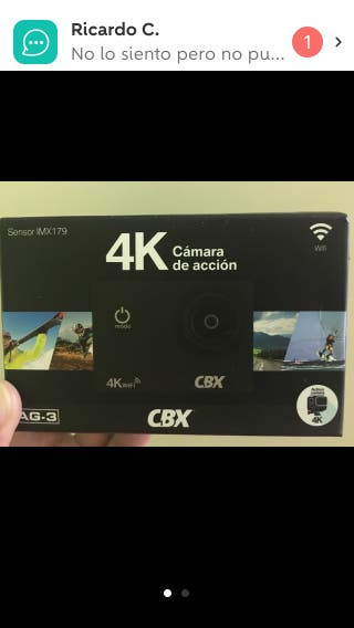 Camara 4K deportiva