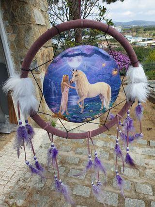 atrapasueños unicornio