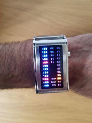 Reloj binario led 01 The One