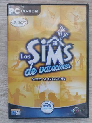 Los Sims de vacaciones juego pc