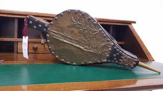 Fuelle Soplador Antiguo con bronce