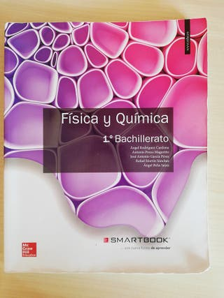 Libro física y química de primero de bachillerato