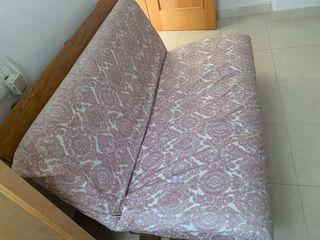Cama Futon incluye colchón y funda