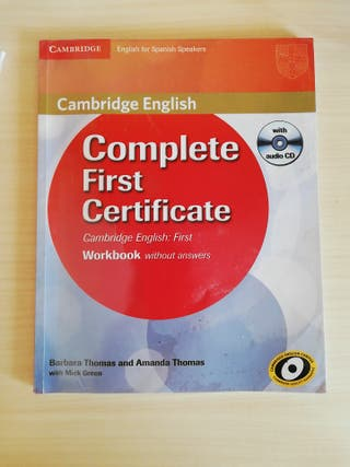 Libro complete First Certificate workbook