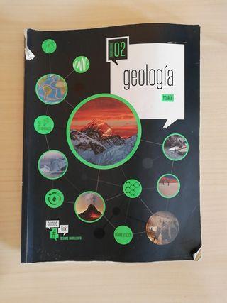 Libro de geología de segundo de bachillerato teorí
