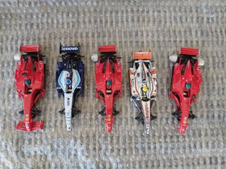 coches f1 scalextric digital para completar