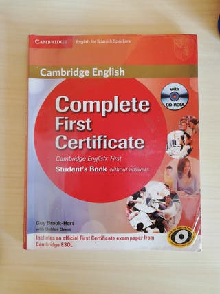 Libro complete First Certificate student's book