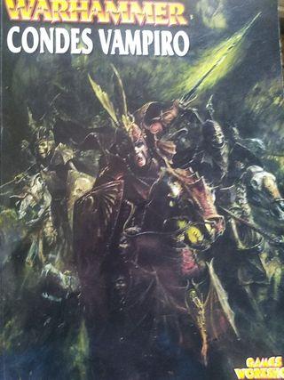 Warhammer libro ejército condes vampiro