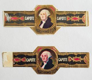 2 VITOLAS CAPOTE CLASICAS - PRESIDENTE WASHINGTON