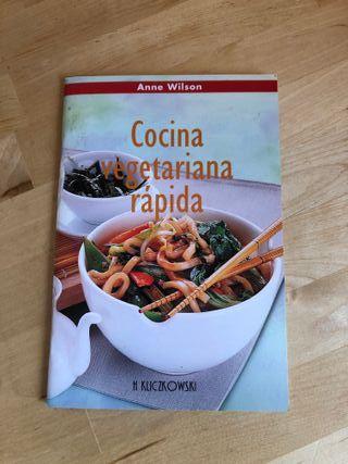 Libro de cocina vegetariana rápida