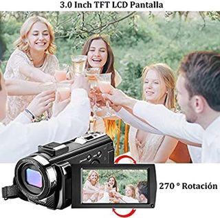 Videocámara con Control Remoto y Dos Baterías Cáma