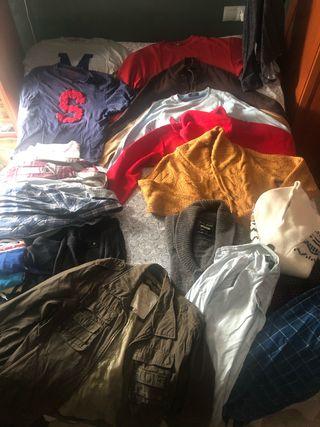 Lote de ropa de hombre 50 PRENDAS
