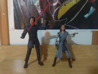 Pack Figuras Star Wars Kylo Ren y Rey