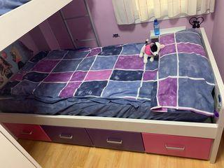Dormitorio juvenil literas