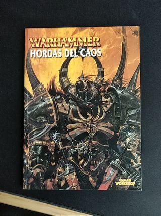 Libro de ejército de Warhammer Hordas del Caos